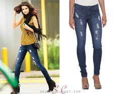 campaign photoshoot Check out these on-trend Dream Out Loud Juniors De. Most Beautiful Pictures, Cool Pictures, Selena Gomez Closet, Award Show Dresses, Dark Skinny Jeans, Latest Outfits, Out Loud, Jeans Fit, Photoshoot