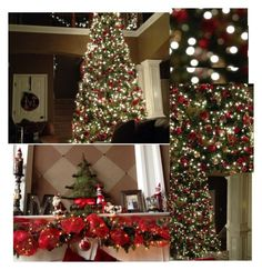 """""""My Christmas decorations! Make a set of yours guys❤️"""" by moseleym ❤ liked on Polyvore"""