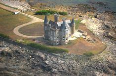 Turpault castle aerial view - Château Turpault — Wikipédia