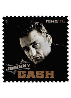 Johnny Cash Stamp Unveiling
