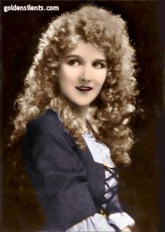 Mary Philbin, silent movie actress (Phantom of the Opera) 1903-93 (The Most Beautiful Mary in Pictures)