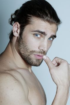 Picture of Mario Ermito Beautiful Men Faces, Gorgeous Men, Moustache, Eye Candy Men, Short Beard, Poses For Men, Awesome Beards, Stylish Girl Pic, Eye Photography