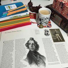 Desejo do dia: Charles Dickens - A Life by Claire Tomalin. Sim, eu preciso da biografia de Dickens ❤️