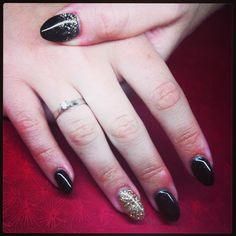 Vegas stiletto gel nails