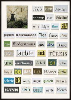 Die 15 Besten Bilder Von Hertha Müller Paper Collagen Und Author