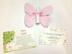 convite borboleta/jardim