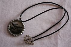 "18"" Leather Necklace, inpsired by Kate Bonham's book ""Uprising"" https://www.facebook.com/theauthorwithin?"