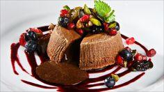 «Flytende» sjokoladekake