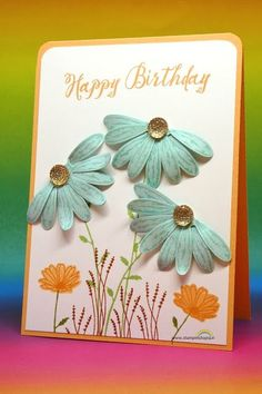 Allmost Real Daisies + Tutorial