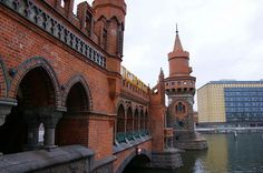 // Oberbaumbrücke, Berlin: