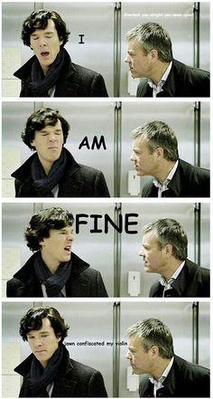 Sherlock John, Benedict Sherlock, Sherlock Fandom, Jim Moriarty, Shinee Sherlock, Quotes Sherlock, Funny Sherlock, Sherlock Poster, Sherlock Series