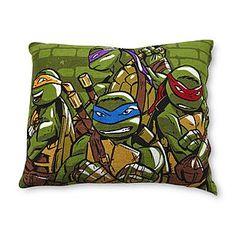 Nickelodeon  Multicolor Teenage Mutant Ninja Turtles Decorative Pillow