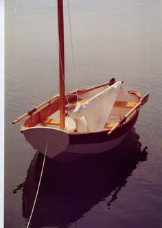 I sailed a sabot just like this