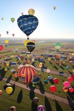 Lorraine hot air balloon festival, France  Copyright: Johanna Spies