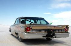 Salt Flats Galaxie Pumping Iron, Us Cars, Race Cars, Ford Fairlane, Vintage Race Car, Ford Motor Company, Custom Cars, Cars And Motorcycles, Hot Rods