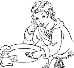 1000 images about dental health on pinterest dental for Little boy blue coloring page