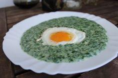 Try this Spanac Crema (Bunica Gabi) recipe, or contribute your own. Stevia, Romanian Food, Nom Nom, Recipies, Eggs, Vegetarian, Breakfast, Traditional, Bulgur