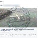 Hoax Alert – 'Malaysian MH370 Plane Found In Bermuda Triangle'