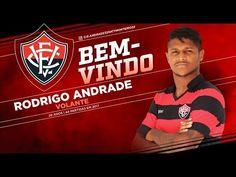 Vitória anuncia a contratação do volante Rodrigo Andrade
