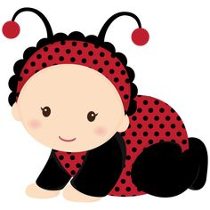 Bebê (Menino e Menina) Minus, this is specially for sweet Retta Clipart Baby, Baby Shower Clipart, Cute Clipart, Baby Ladybug, Baby Bug, Quilt Baby, Tole Painting, Fabric Painting, Invitation Baby Shower