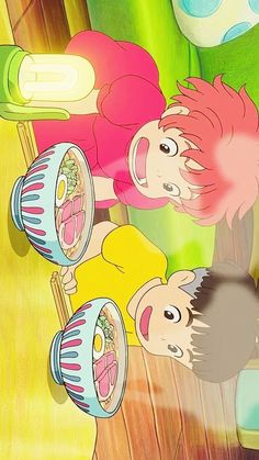 Yummmmy ghibli food is the best looking xD Cartoon Wallpaper, Kawaii Wallpaper, Iphone Wallpaper, Studio Ghibli Art, Studio Ghibli Movies, Film Anime, Anime Art, Animes Wallpapers, Cute Wallpapers