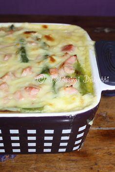 Terrina di asparagi al forno