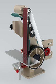 Grinder - STEP / IGES - 3D модель - GrabCAD