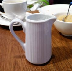 London - L'Eto Caffe, milk jug