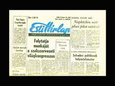 Esti Hirlap Februar 1982 Retro Posters, Budapest Hungary, Retro Vintage, Memories, Yesterday And Today, Hungary, February, Memoirs, Souvenirs