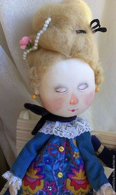 Коллекционные куклы ручной работы. Love story.. Анастасия Побережец. Ярмарка Мастеров. Коллекционная кукла, бархат