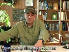 Basic Fly Fishing Knots-Rigging a new set up.  This video shows you how to set up a new fly fishing set up. Tying all the basic knots and getting you ready to go.  Check out our youtube channel with all the beginning fly fishing videos at  http://www.youtube.com/user/tightlinesflyshop