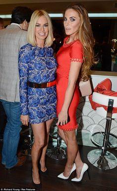 Caroline Stanbury and Victoria Baker-Harber..... - Celebrity Fashion Trends