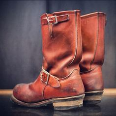 engineer boots. i'm a size 9, EE. Probably can't find them at a reasonable price new, but used is fine with me.