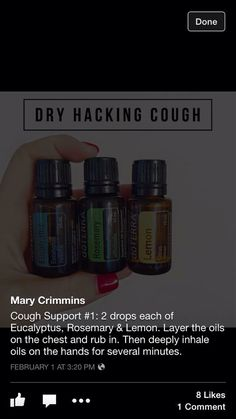 Dry hacking cough