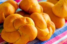 Pão de abóbora - Dedo de Moça