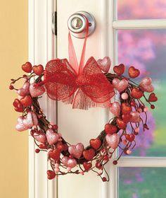 Valentine Heart Wreaths