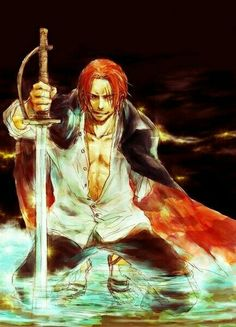 Shanks - One Piece Red Haired Pirates