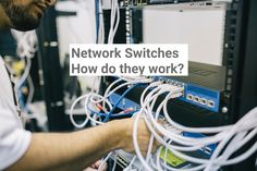 `What is a network switch and how does it work? Learn how switches communicate in the networking landscape with real world comparisons as well as the evolution of switches. These devices are definitely more than just a thing that we connect cables to! Network Switch, Does It Work, Definitions, Evolution, Connect, Landscape, World, Scenery, The World