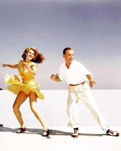 """Fred Astaire and Rita Hayworth """"For You Were Never Lovelier"""", 1942"""