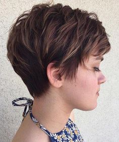 Short Choppy Hairstyles 2017 with Bangs