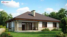 Z10 D to wyjątkowy dom z kategorii projekty domów jednorodzinnych Gazebo, Outdoor Structures, Cabin, House Styles, Home Decor, Facades, Home, Lawn And Garden, Kiosk