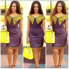 office chitenge dresses for women 2020 ⋆ African Fashion Ankara, African Inspired Fashion, Latest African Fashion Dresses, African Dresses For Women, African Print Dresses, African Print Fashion, Africa Fashion, African Attire, African Wear