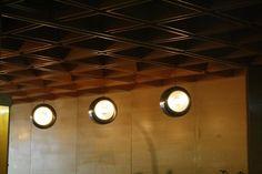 Hotel Kyjev in Bratislava, Slovakia Bratislava Slovakia, Brutalist, Track Lighting, Ceiling Lights, Home Decor, Decoration Home, Room Decor, Outdoor Ceiling Lights, Home Interior Design