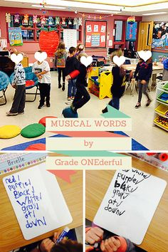 Musical Words by Grade ONEderful: Get your kids up and dancing with this fun spelling lesson.