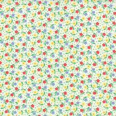 30's Playtime 2  Posies in Porcelain by Chloe's by LilyRoseQuilts, $9.75