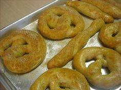 homemade soft pretzel recipe