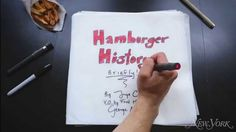 History of the Hamburger - http://www.dravenstales.ch/history-of-the-hamburger/