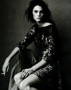 Marina Perez by Steven Meisel for Vogue Italia December 2004