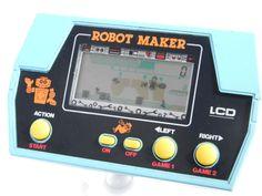 80s Retro Takatoku Toys LCD Game Robot Maker MIJ 1982 Great Condition_891 #TakatokuToys