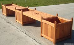 wooden planter boxes | Our planter boxes line has versatily in designs and sizes, using first ...